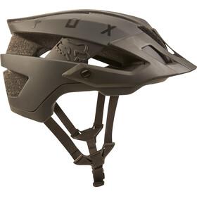 Fox Flux Solid Trail Helmet Men navy/orange
